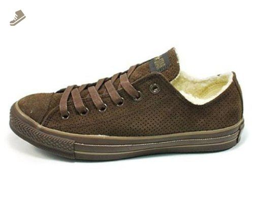 Converse Chuck Taylor Suede Shearling Lined Perfed Ox (Men's US 7 .