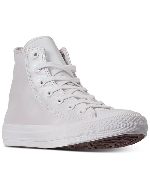 Converse Women's Chuck Taylor All Star Iridescent High Top .