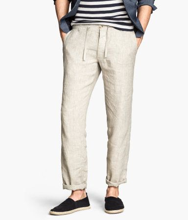 H&M offers fashion and quality at the best price | Linen pants .