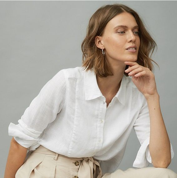 Linen shirts for women to freshen up your wardro
