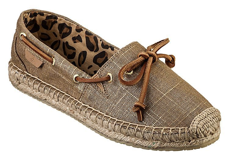 Sperry Top-Sider® Katama Slip-On Shoes for Ladies - Metallic Linen .