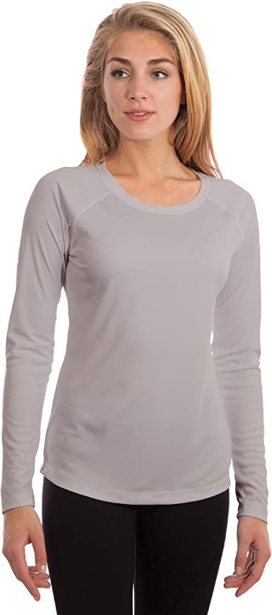 Vapor Apparel Women's UPF 50+ UV Sun Protection Long Sleeve .