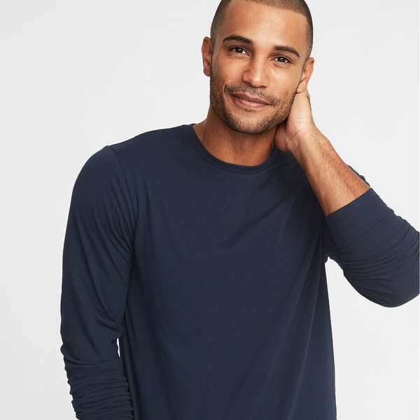 10 Best Men's Long Sleeve T-Shirts | Rank & Sty