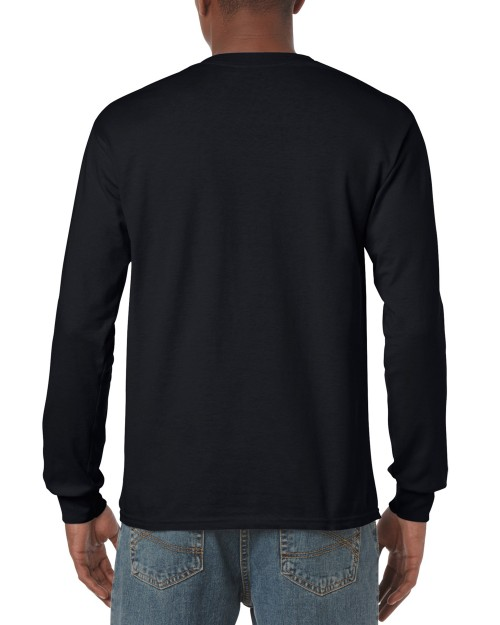 Custom Printed Adult Long Sleeve T-Shirt Gildan 5400 — T-Shirt .