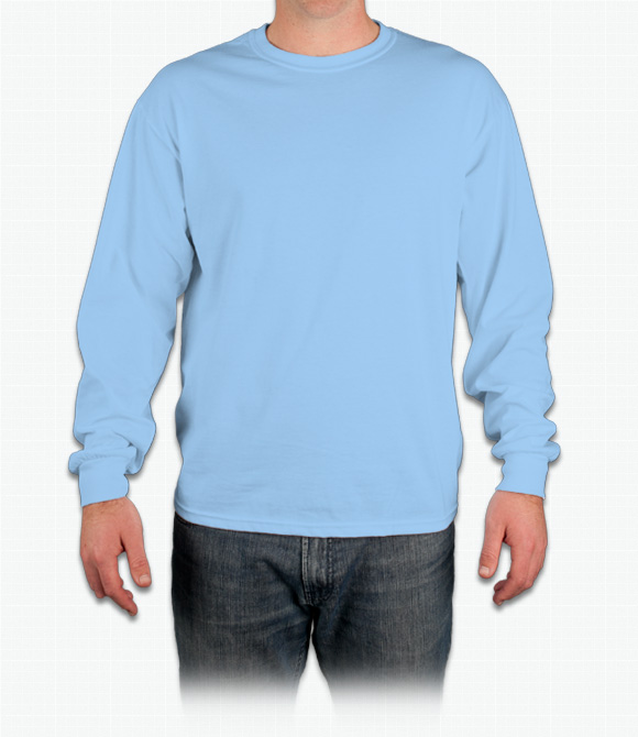 Custom Gildan Ultra Cotton Long Sleeve T-Shirt - Design Onli