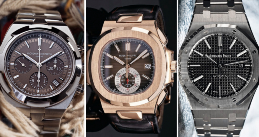 Luxury Watch Brands: The Holy Trinity of Watchmakers .