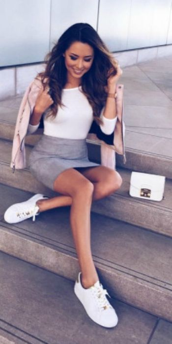 Mini Skirt Outfits: Cute Ways To Wear A Mini Skirt - Just The .