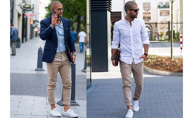 7 Snazzy Ways To Wear White Sneakers With Your Outfi