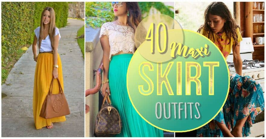 40 Maxi Skirt Outfits That Will Have You Dressed Perfectly for Any .