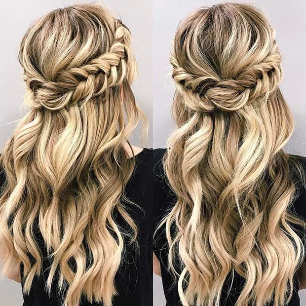 easy hair styles #summer #hair | Hair styles, Medium hair styles .