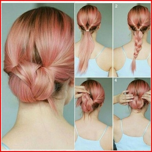 Easy Updos For Medium Hair – Easy Hairstyl