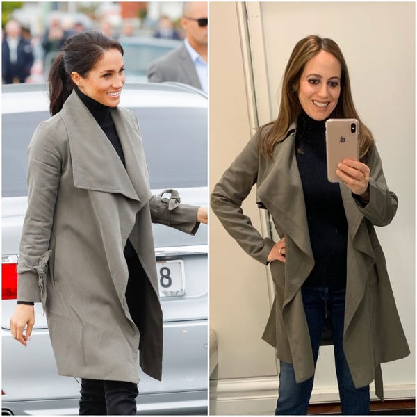 Fashion blogger recreates Meghan Markle's wardrobe for fraction of .