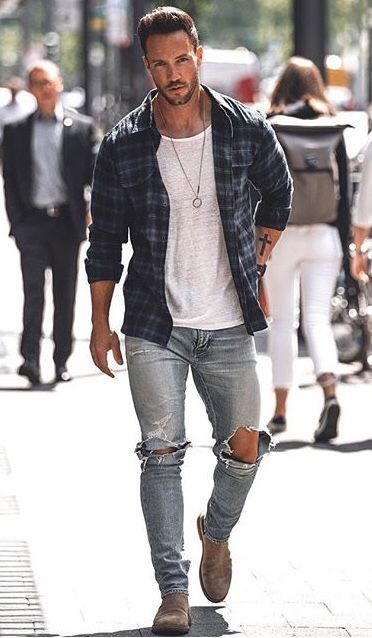 Men Fashion Outfits | Mens street style summer, Mens clothing .