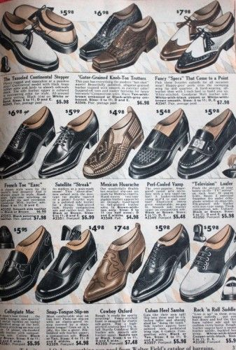 All About Mens 1950s Shoes Styles | 1950s shoes, 1950s fashion .