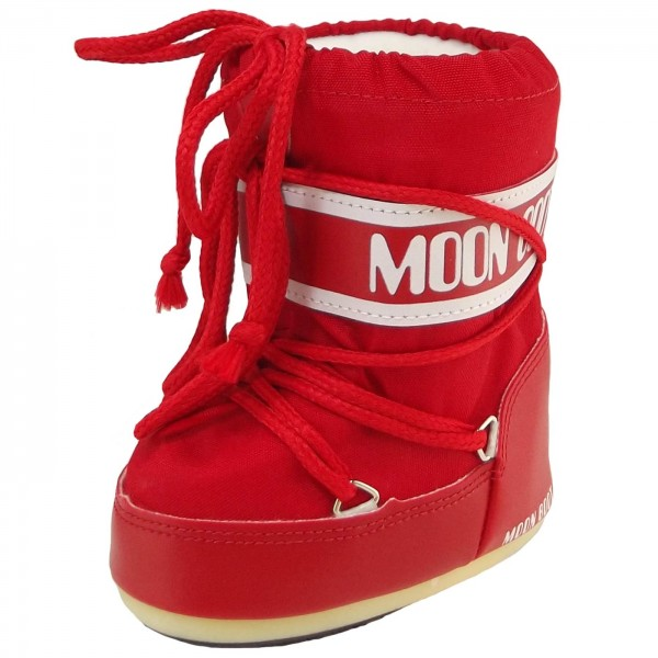 Moon Boot by Tecnica Mini Nylon Toddler Moonboots red | Winter .