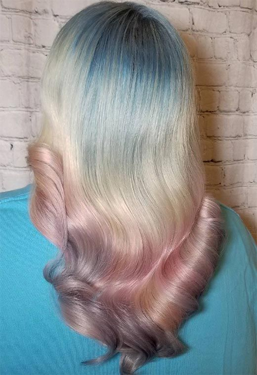 Mother-of-Pearl Hair Trend: 53 Iridescent Pearl Hair Colors to Dye .