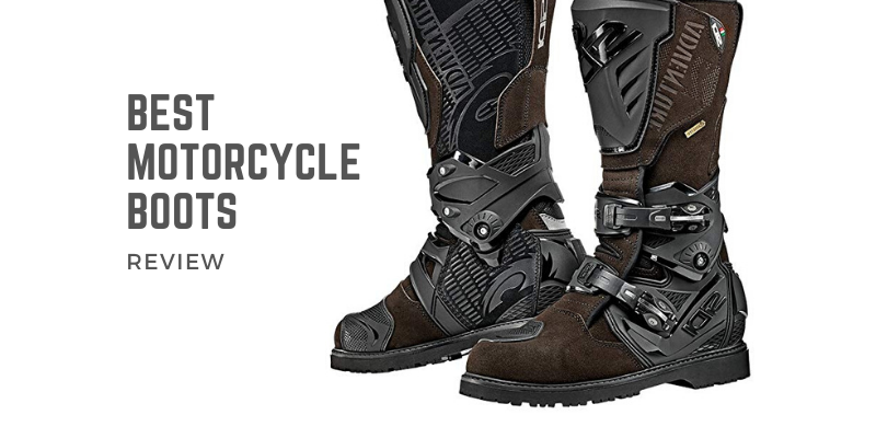 Best Motorcycle Boots In 2020 - Top 10 Ranked Revie