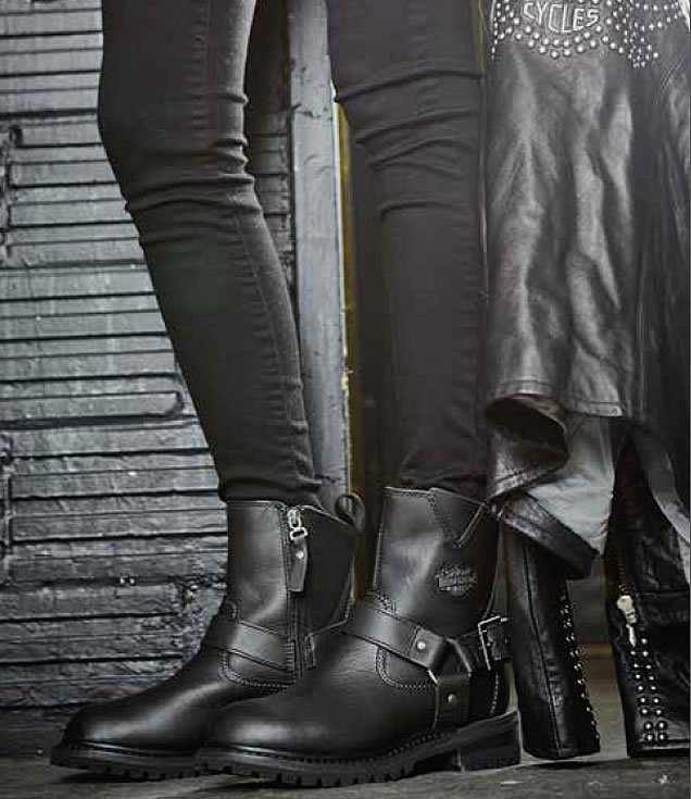 Women's Motorcycle Boots with High Temperature-Resistant Technolo