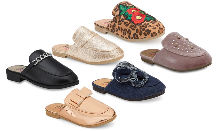 Up To 40% Off on Olivia Miller Kids' Mule Shoes | Groupon Goo