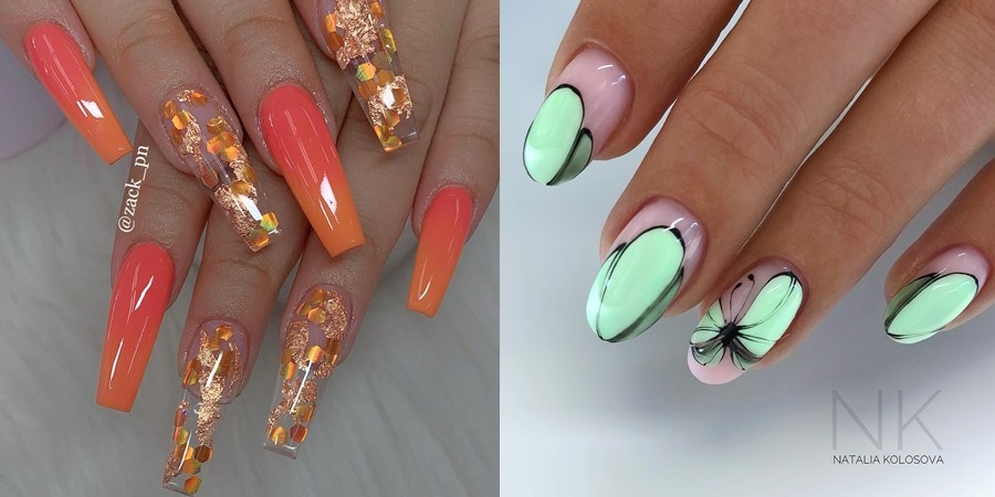 70+ Pretty Nail Designs Ideas for This Year - Page 16 of 24 .