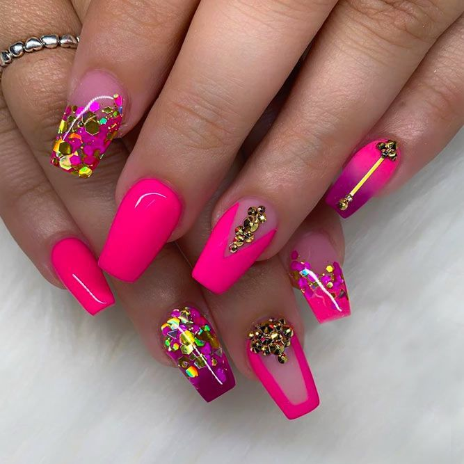 35+ Outstanding Short Coffin Nails Design Ideas .