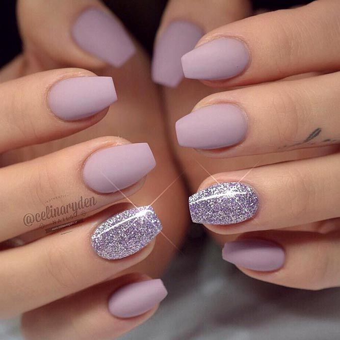 40+ Trendy Short Coffin Nails Design Ideas | NailDesignsJournal .