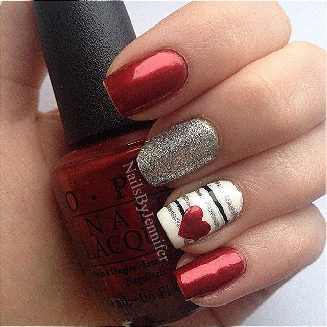 Nail Ideas for Valentine