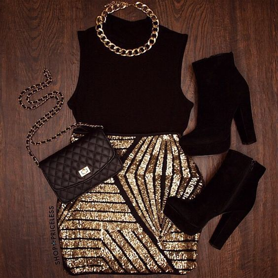 Christmas & Happy New Year Party Outfit Ideas – Latest Winter .