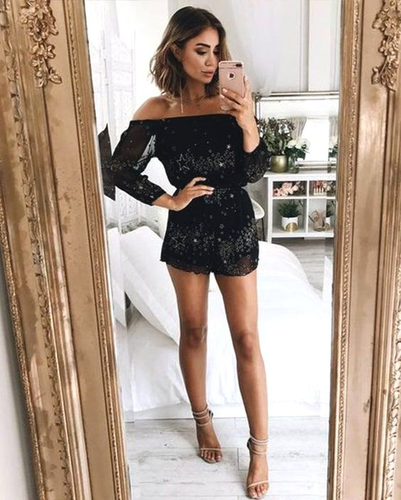 Sparkly Jumpsuit Outfit Ideas – kadininmodasi.org in 2020 | Eve .