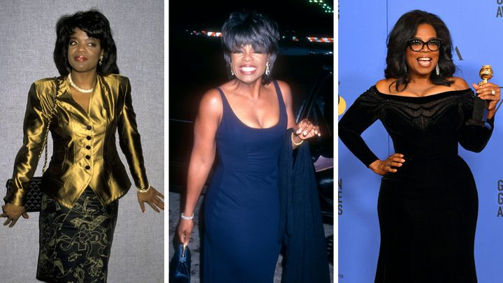 Oprah Winfrey's Style Evolution, From So '80s To Ultra Glam .