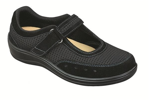 WOMEN'S BREATHABLE MESH MARY JANE - TWO-WAY-STRAP ORTHOFEET .
