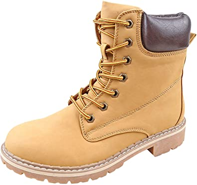 Amazon.com | Forever Broadway-5 Women's Military Combat Lace Up .
