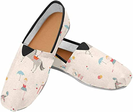 Amazon.com | VIC Women Flat Canvas Shoes Fashion Sneaker with .