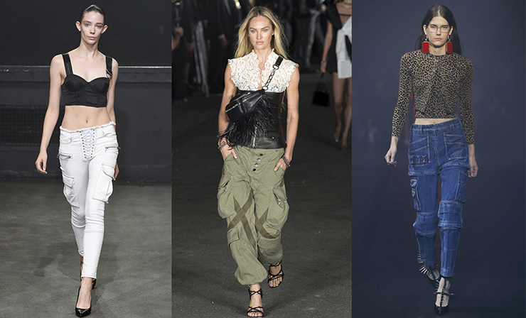 Cargo Trousers As a Warlike Trend Of This Spring - The Fashiongton .