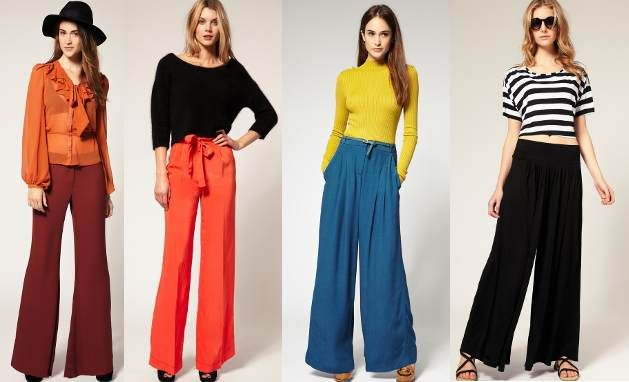 Latest Style Trend - How to wear Palazzo Pants - Touch18 | Fashion .