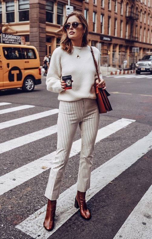 The Fall Trends Every Fashion Girl Will Be Wearing, striped pants .