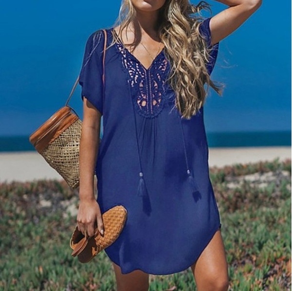 2020 cotton beach cover up sarong swim cover up pareos de playa .