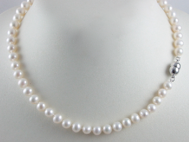 Freshwater Pearl Necklace – Simply Marcel