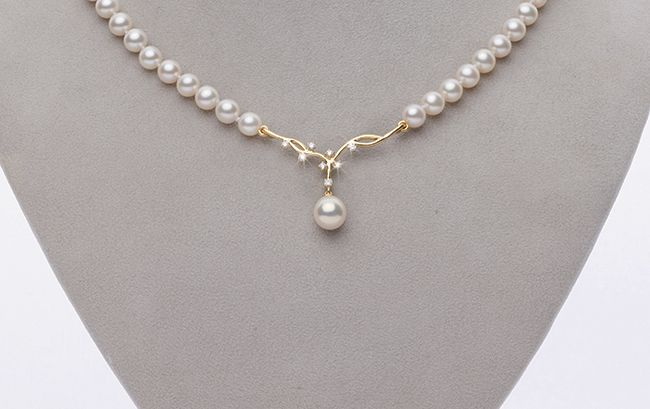 Custom Design Pearl Necklace By Pure Pearls | Pearl necklace .