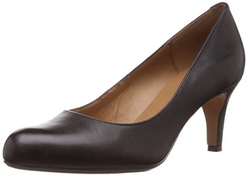 Buy Clarks Women's Arista Abe Leather Pumps & Peeptoes at Amazon.