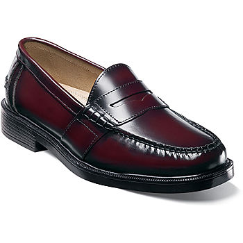 Nunn Bush® Lincoln Mens Moc Toe Dress Penny Loafers - JCPenn