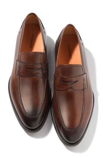 Magnanni 'Tevio' Penny Loafer (Men) (Online Only | Gentleman shoes .