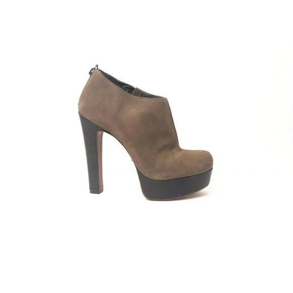 SCHUTZ Shoes | Womens Platform Ankle Boots Size 10 Tan | Poshma