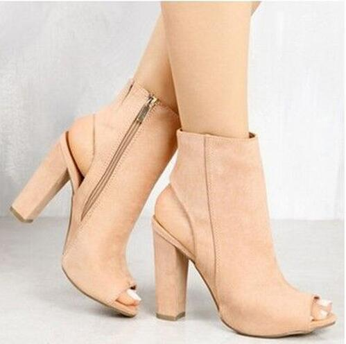 Women High Heels Casual Party Platform Pumps Peep Toe Shoes Lady .
