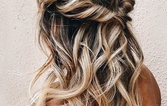 37 beautiful half up half down hairstyles for the modern bride .