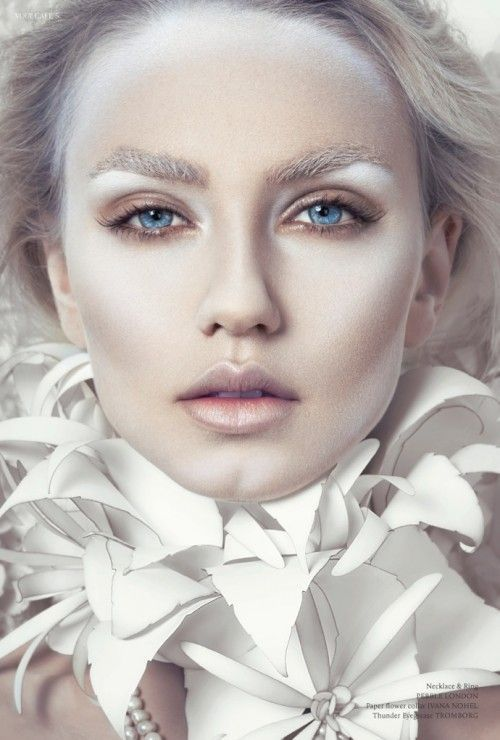 25 Simple & Pretty Look Angel Makeup Ideas | Editorial make-up .