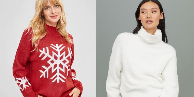 30 Cute Christmas Sweaters - Pretty and Stylish Holiday Sweate