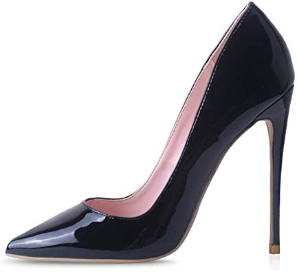 Amazon.com | Elisabet Tang High Heels, Womens Pointed Toe Slip on .