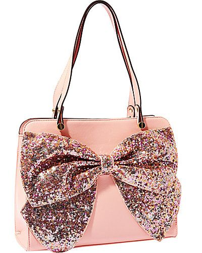 Bow Regard Large Satchel from Betsey Johnson | Betsey johnson .