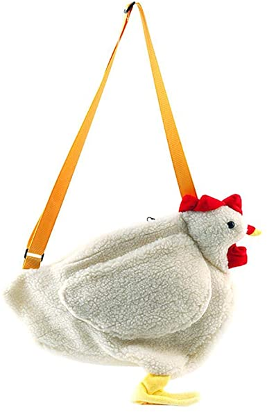 Amazon.com: Cartoon Crossbody Bags, Creative Cute Chicken Backpack .